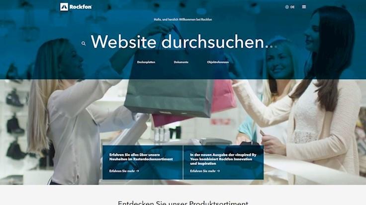 web guide page illustration, screen shot, DE
