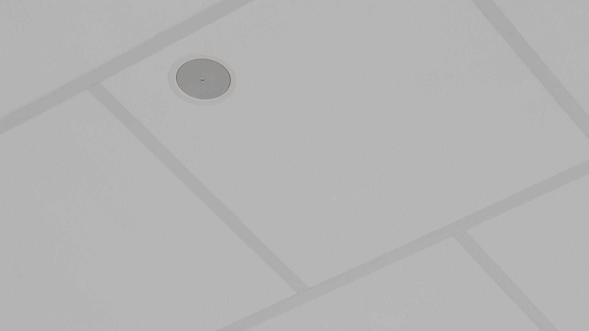 Verwendete Produkt(e): Rockfon® Boxer™, AEX, 1200 x 1200